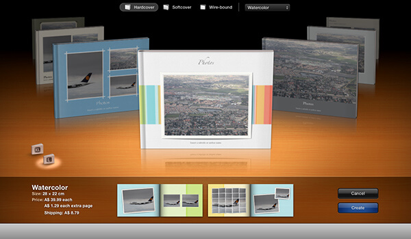 iPhoto book printing and binding by Studio22 in South Africa. www.coffeetablebooks.co.za